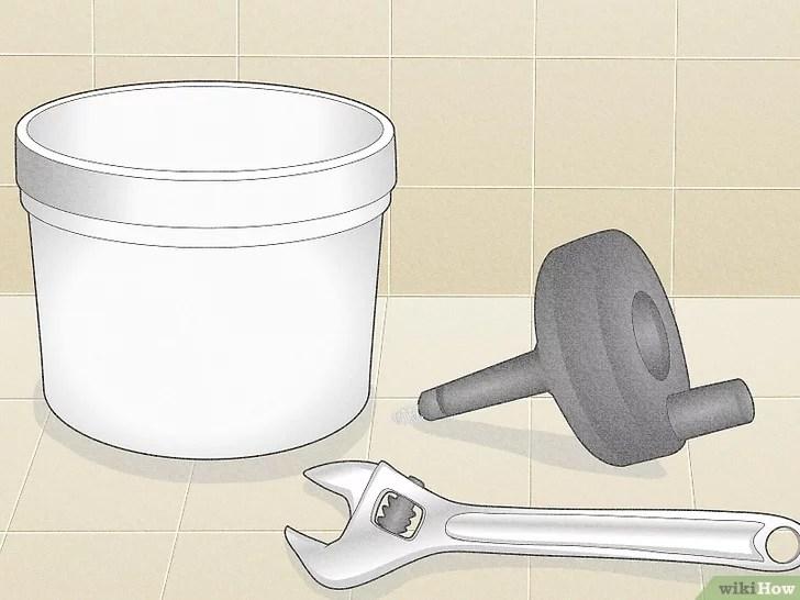 Imagem intitulada Unclog a Slow Running Bathroom Sink Drain Step 14