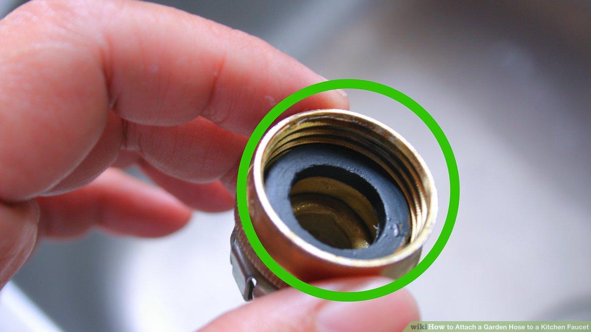 how to attach a garden hose to a