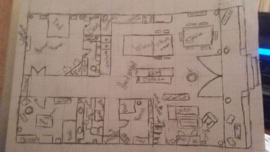 How to Draw Blueprints for a House  with Pictures    wikiHow Uploaded 2 years ago