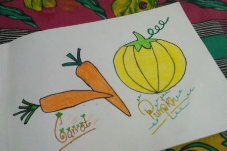 Drawing Pictures Printable Vegetables Coloring Page Free PDF Download At Coloringcafe