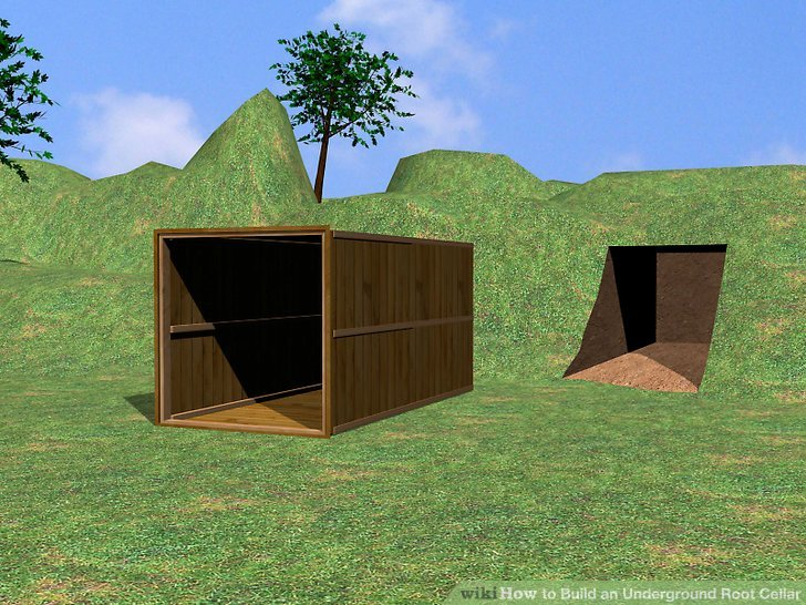 How To Build An Underground Root Cellar 10 Steps With