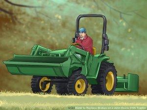 5205 John Deere Tractor Brakes  Image Of Deer LedimageCo