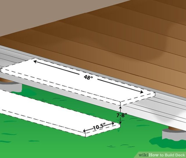 Image Titled Build Deck Stairs Step