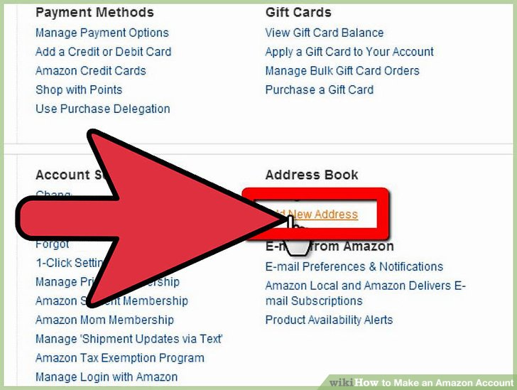 Amazon 1 Click Payment Method