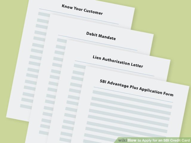How to Apply for an SBI Credit Card  with Pictures    wikiHow Image titled Apply for an SBI Credit Card Step 14