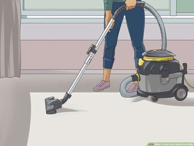 How to Clean Soot Stains from Walls (with Pictures) - wikiHow Life