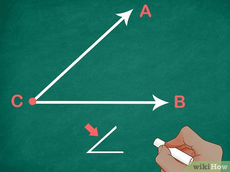 how to name an angle 11 steps with