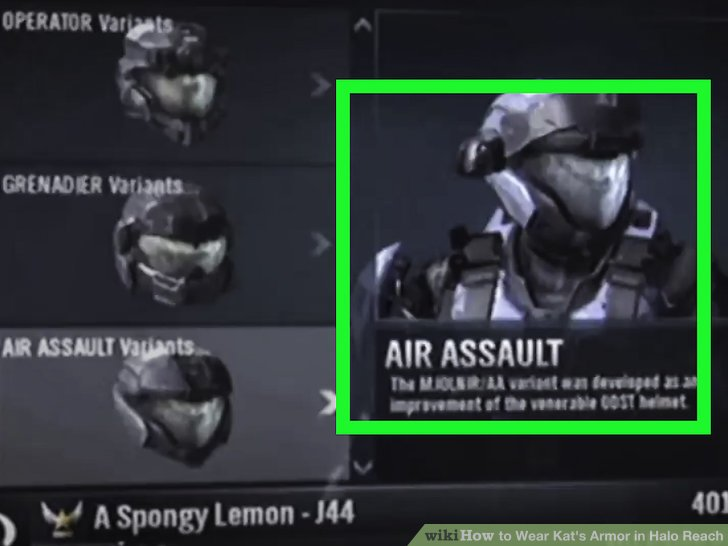 How To Wear Kats Armor In Halo Reach 5 Steps With Pictures