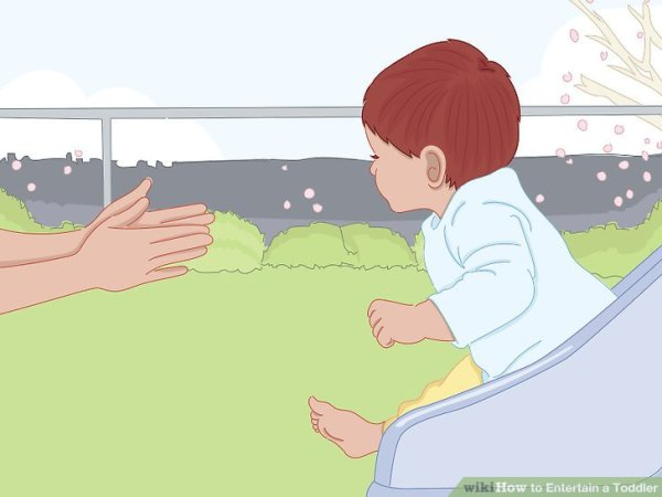 3 Ways to Entertain a Toddler - wikiHow