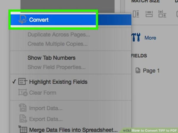 How to Convert TIFF to PDF: 15 Steps (with Pictures) - wikiHow