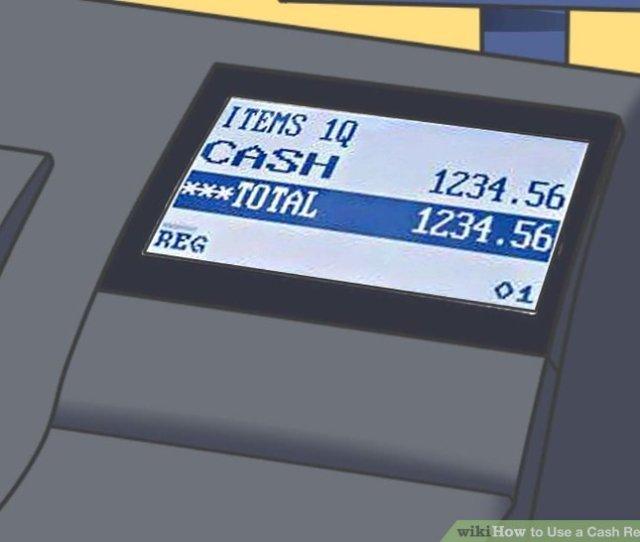 Image Titled Use A Cash Register Step 11