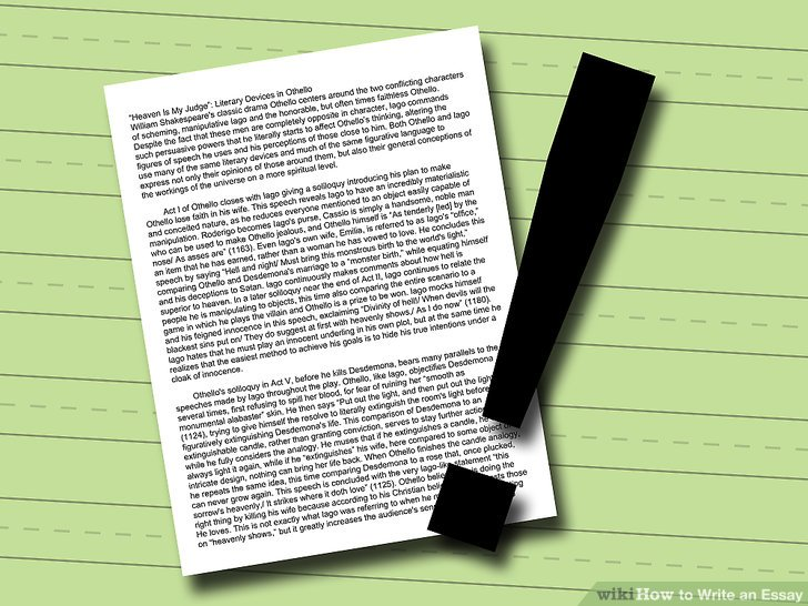 How to Write an Essay  with Pictures    wikiHow Image titled Write an Essay Step 11