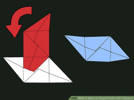 How To Make An Origami Cube With 6 Squares Pictures