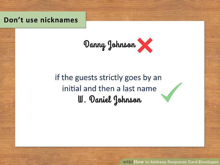 Image Led Address Response Card Envelopes Step 4