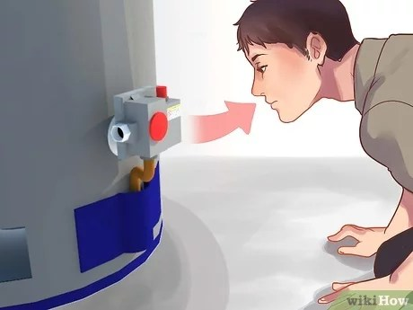 how to light a water heater with