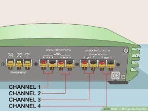 How to Bridge an Amplifier: 7 Steps (with Pictures)  wikiHow