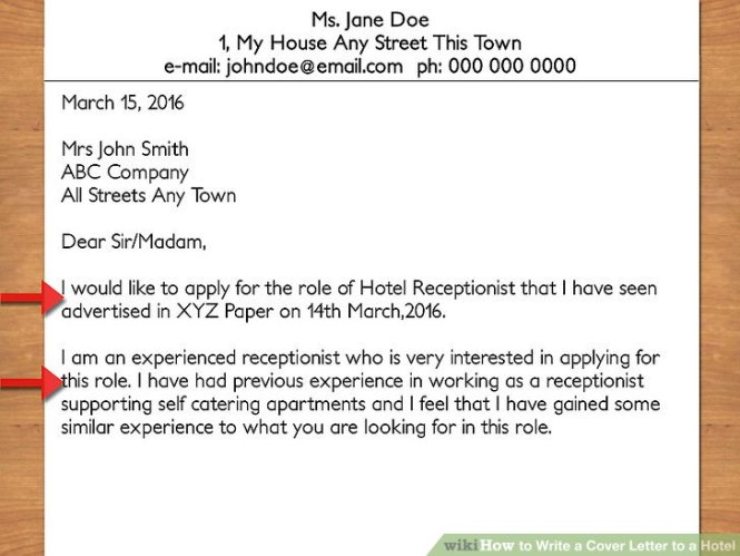 Brilliant Ideas Of Medical Receptionist Cover Letter With No Experience For Your Template