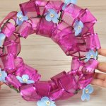 3 Ways To Make A Ribbon Wreath Wikihow