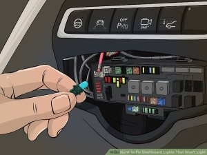 How to Fix Dashboard Lights That Won't Light: 4 Steps