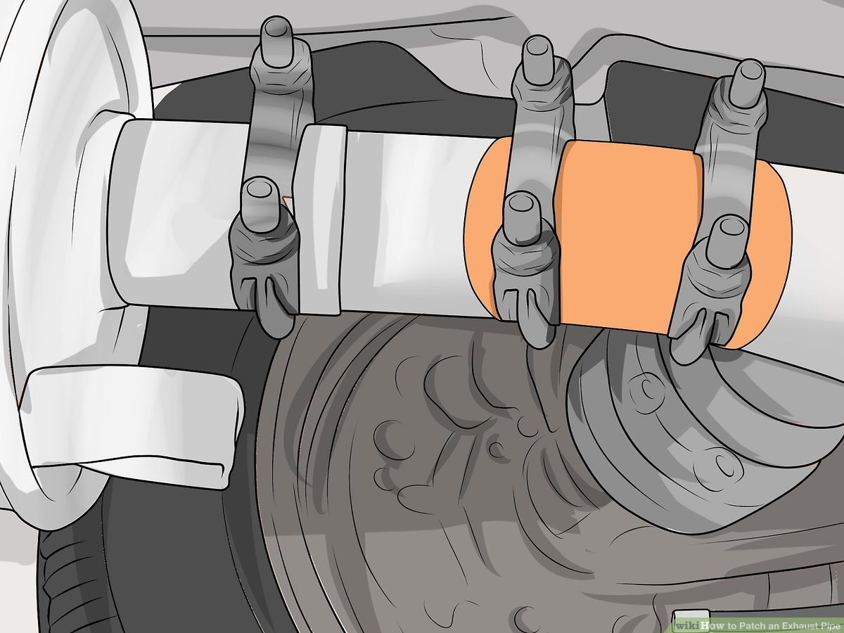 3 ways to patch an exhaust pipe wikihow
