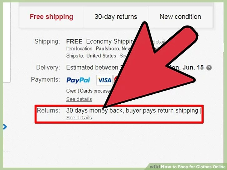 Image titled Shop for Clothes Online Step 16