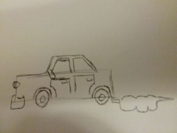How to Draw a Cartoon Car: 8 Steps (with Pictures) - wikiHow