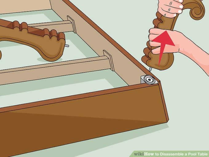 Pool Table Disassembly Instructions Wwwmicrofinanceindiaorg - How to disassemble a pool table