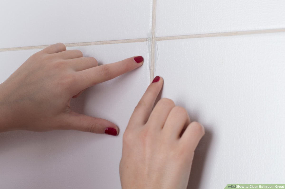 3 ways to clean bathroom grout wikihow