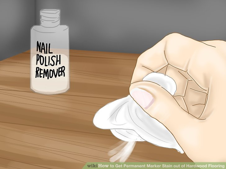 Nail Polish Remover Image Led Get Permanent Marker Stain Out Of Hardwood Flooring Step 9