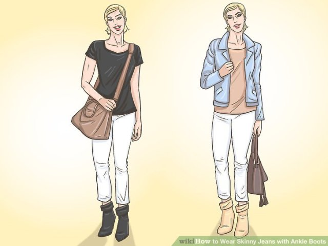 Wear Skinny Jeans with Ankle Boots Step 13.jpg