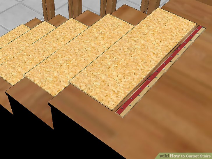 Beautiful ... How To Install Carpet On Stairs Without Tack Strips Laying Carpet On Stairs  Without Tack Strips ...