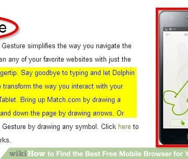 Imageled Find The Best Free Mobile Browser For Your Phone Or Tablet Step