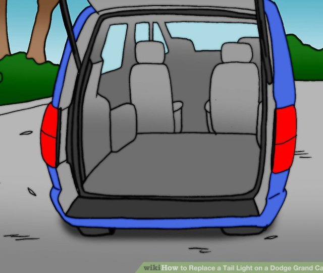 Image Titled Replace A Tail Light On A Dodge Grand Caravan Step 2