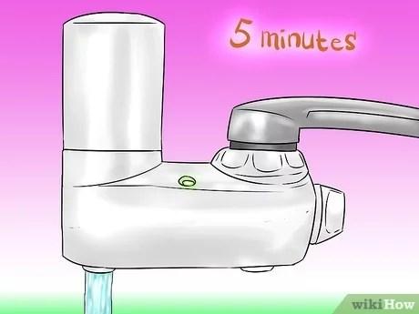 install a brita filter on a faucet