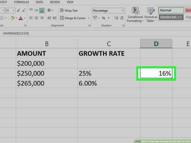 How to Calculate Average Growth Rate in Excel: 23 Steps