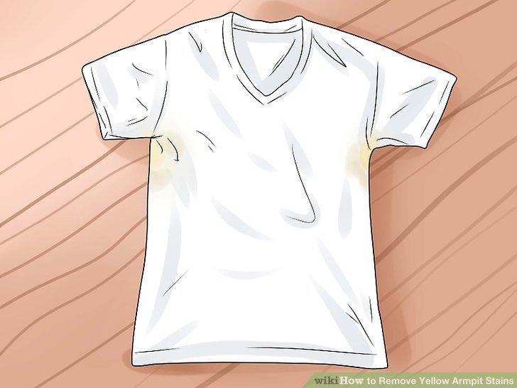 Discoloration White Fabric
