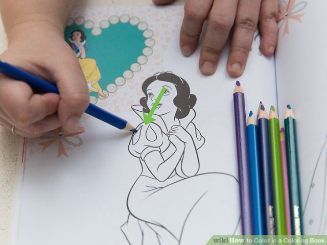 How To Color In A Coloring Book 15 Steps With Pictures Image Titled