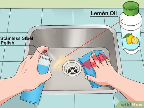 remove stains from stainless steel