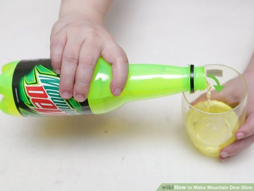 Image Titled Make Mountain Dew Glow Step 1