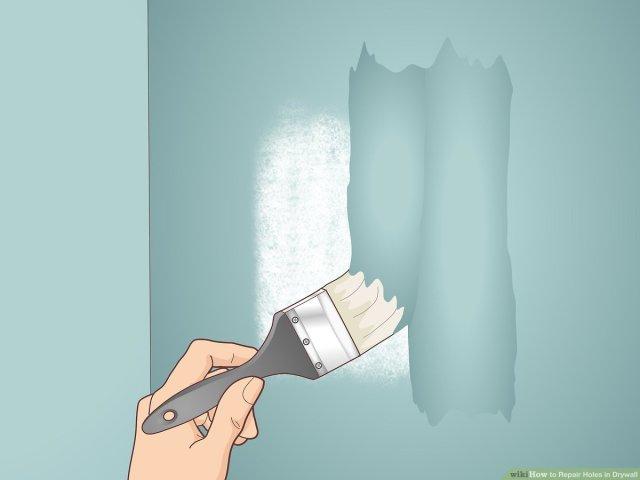 23 Ways to Repair Holes in Drywall - wikiHow