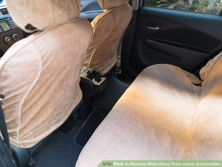 how to remove odor from car seats