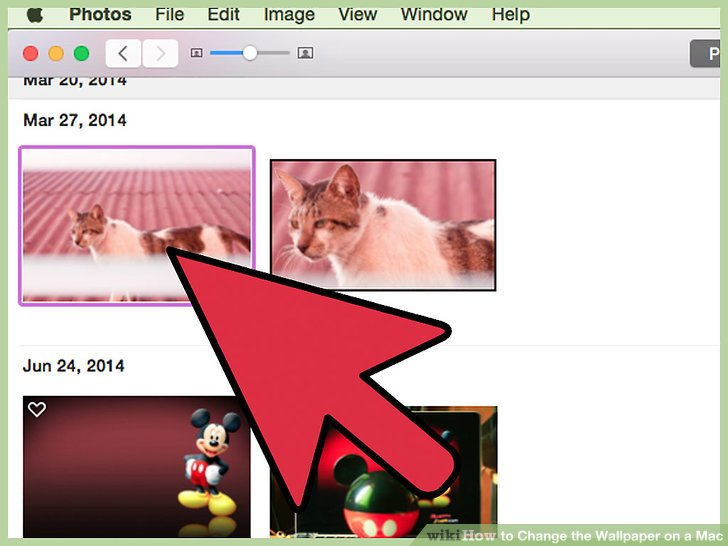 macbook how to change background