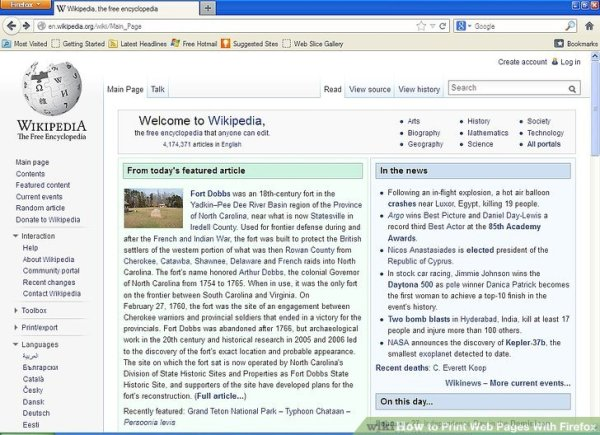 How to Print Web Pages With Firefox: 7 Steps (with Pictures)