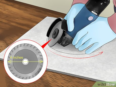 4 ways to cut tile around a toilet
