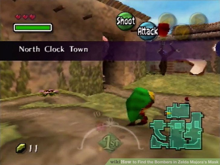 How To Find The Bombers In Zelda Majoras Mask 6 Steps