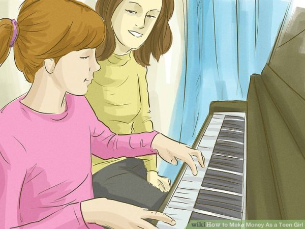 3 Ways to Make Money As a Teen Girl - wikiHow