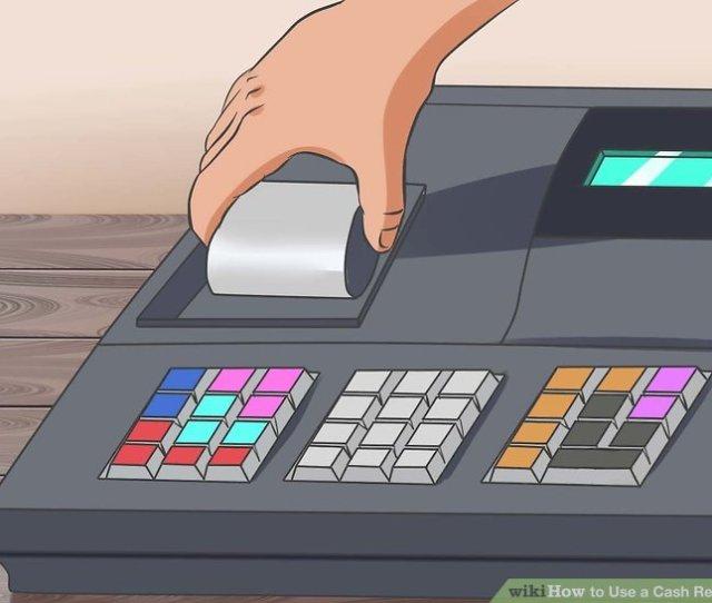 Image Titled Use A Cash Register Step 3