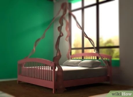 3 ways to make a bed canopy wikihow