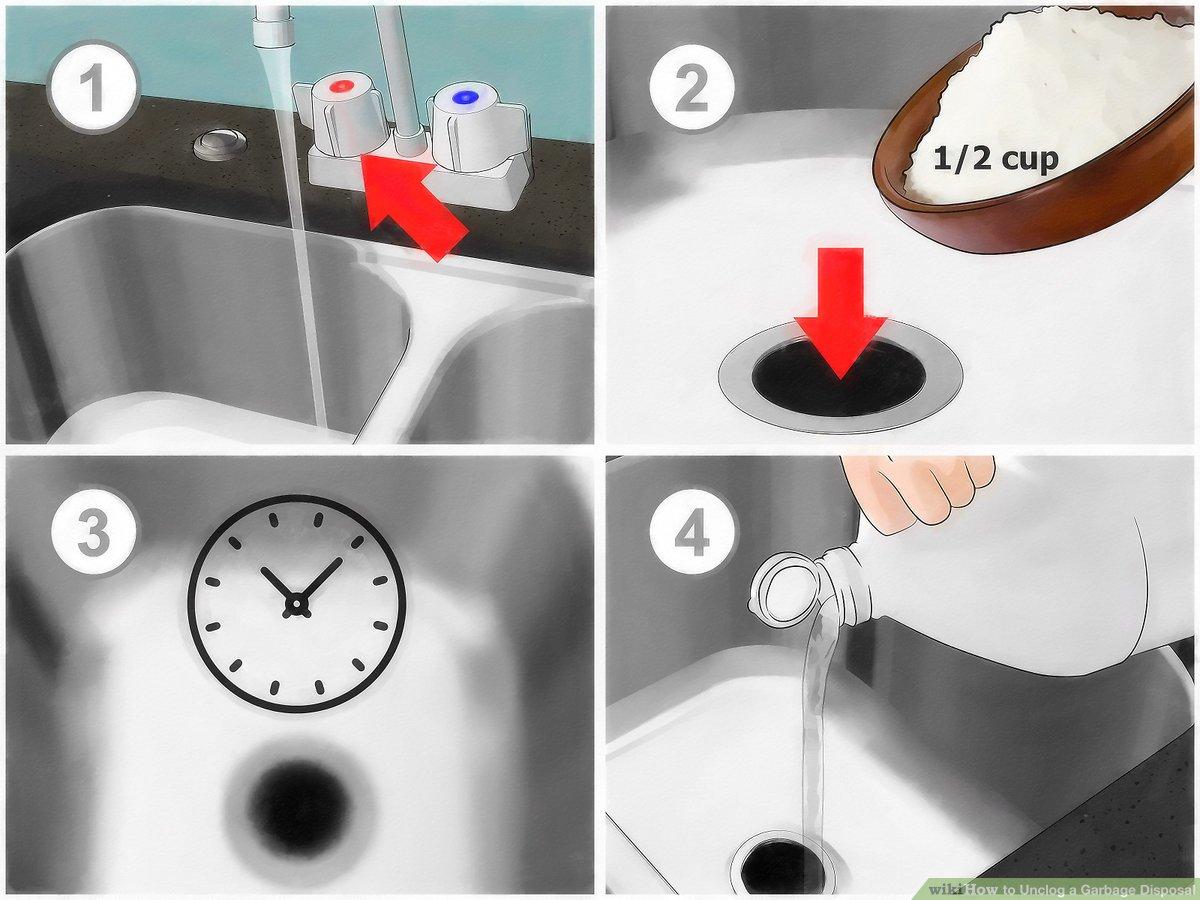 4 ways to unclog a garbage disposal