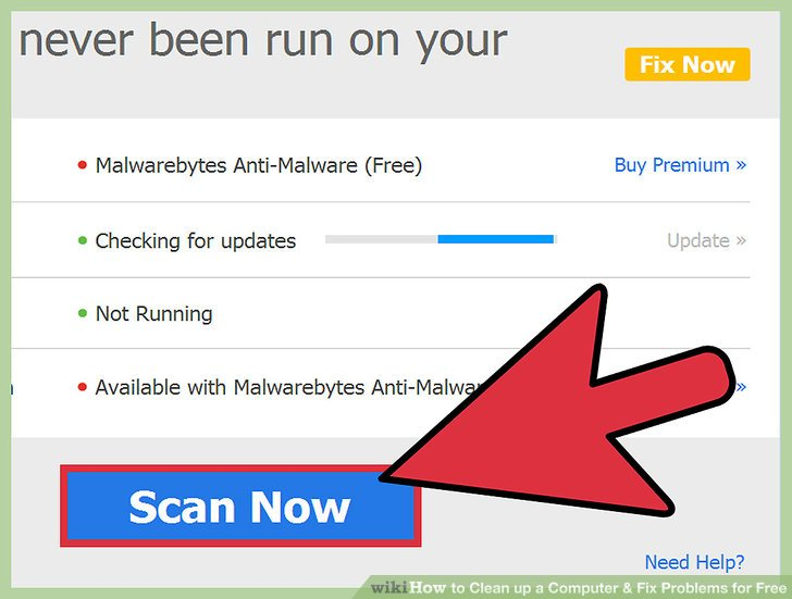 Run Malware Scan Website